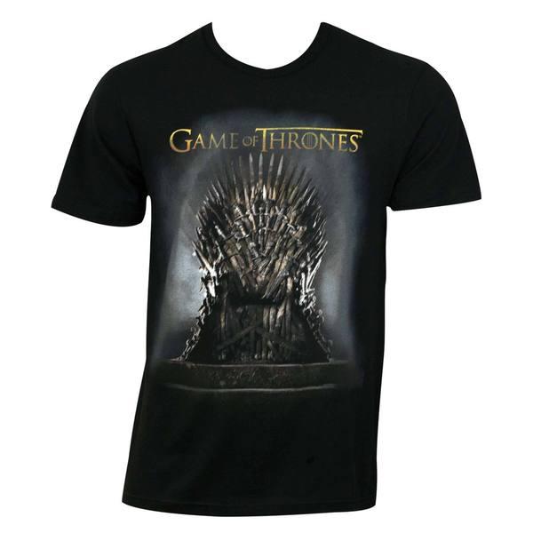 Game Of Thrones Men's Black Throne T-shirt