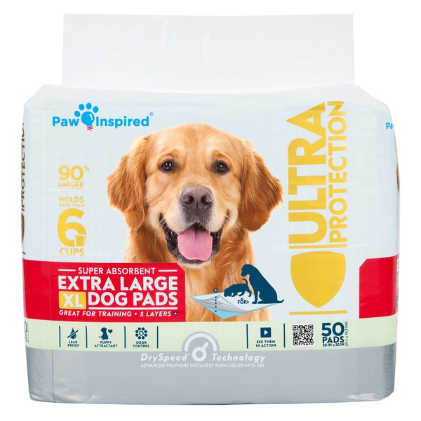 Paw Inspired Ultra Protection Extra Large Puppy Training Pads 22037077