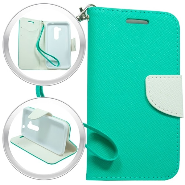 LG Joy H220 Teal Green Wallet Pouch