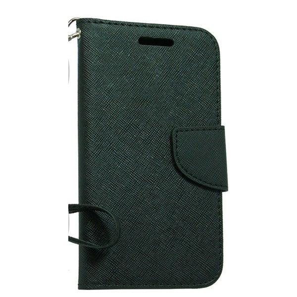 LG Joy H220 Black Wallet Pouch