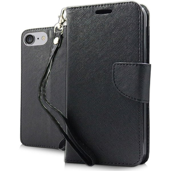 Black iPhone 7 Wallet Pouch