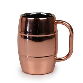 Stainless Steel Beer Barrel Mug