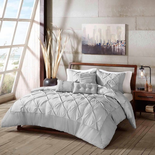 Eco Weave GoGreen Sunny 6-Piece Pintuck Comforter Set