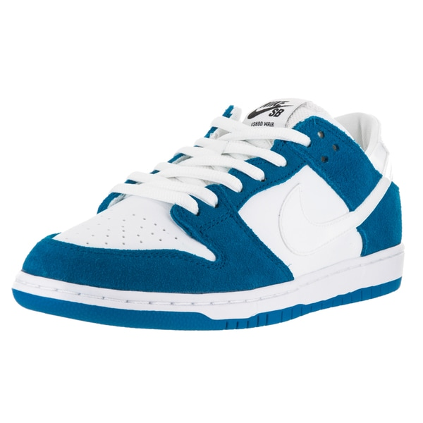 Nike Men's Dunk Low Pro IW Spark Blue/White/Black Skate Shoes