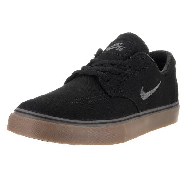 Nike Men's SB Clutch Black Textile Skate Shoe 22055090