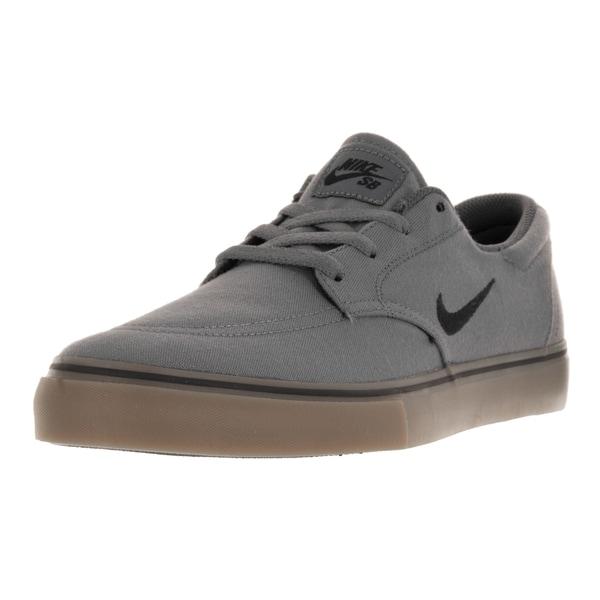 Nike Men's SB Clutch Dark Grey Canvas Skate Shoes