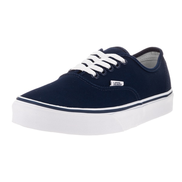 Vans Unisex Authentic Eclipse Blue Canvas Skate Shoe