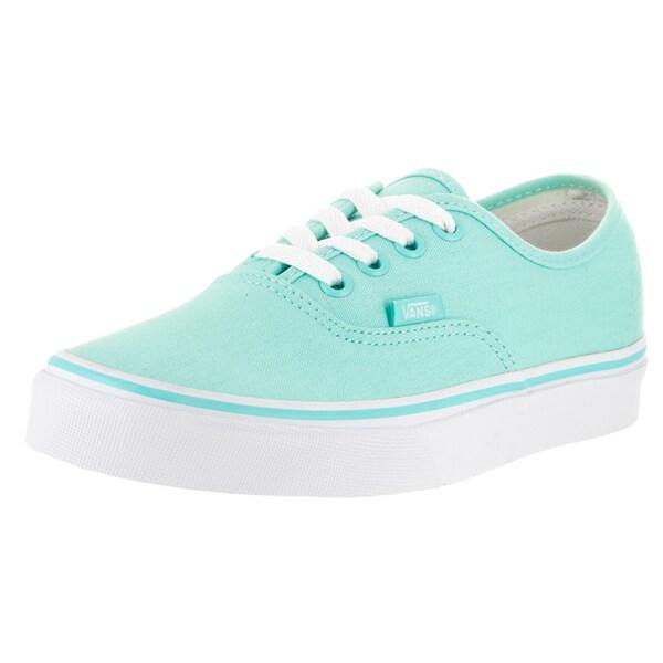 Vans Unisex Blue/White Canvas Skate Shoe