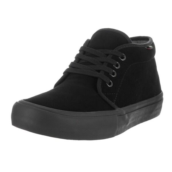 Vans Men's Chukka Pro Blackout Suede Skate Shoe