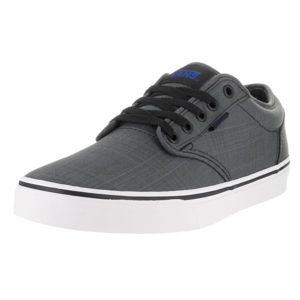 Vans Men's Atwood Black Mono Textile Skate Shoes