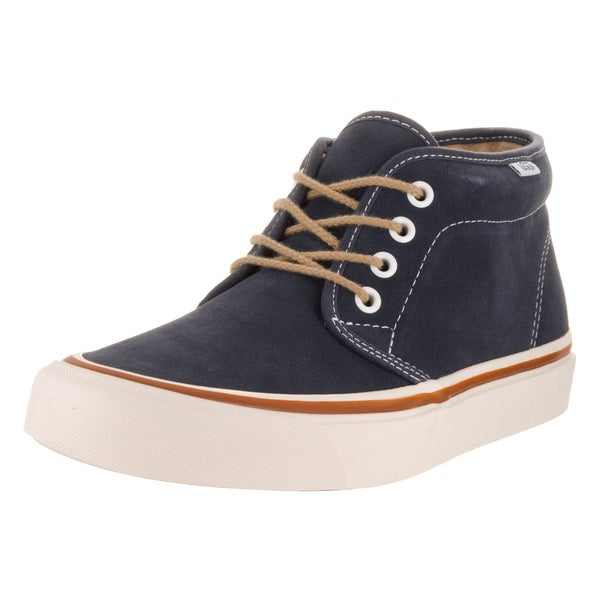 Vans Unisex Blue Suede Chukka Ankle Boots