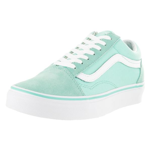 Vans Old Skool Aruba Blue and White Skate Shoe