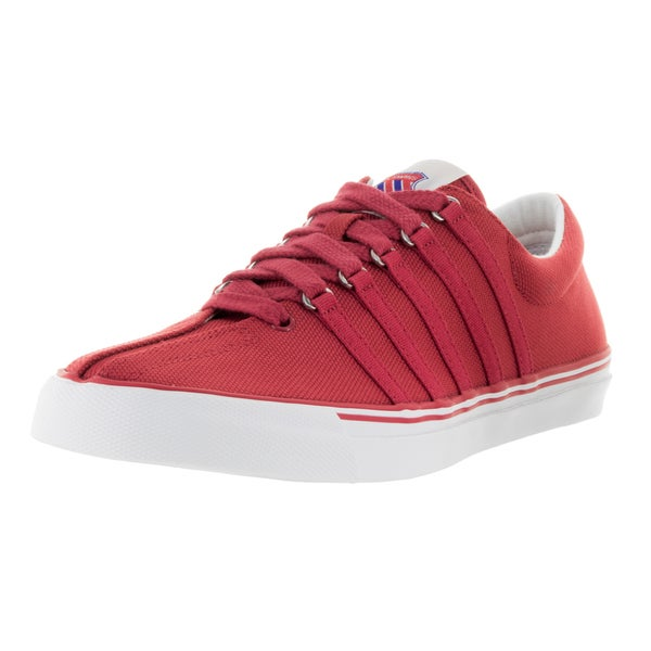 K-Swiss Men's Surf 'N Turf OG Red Textile Casual Shoes