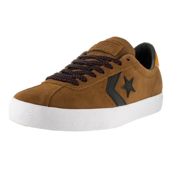 Converse Unisex CONS Break Point Suede Ox Antiqued/Black/White Skate Shoe