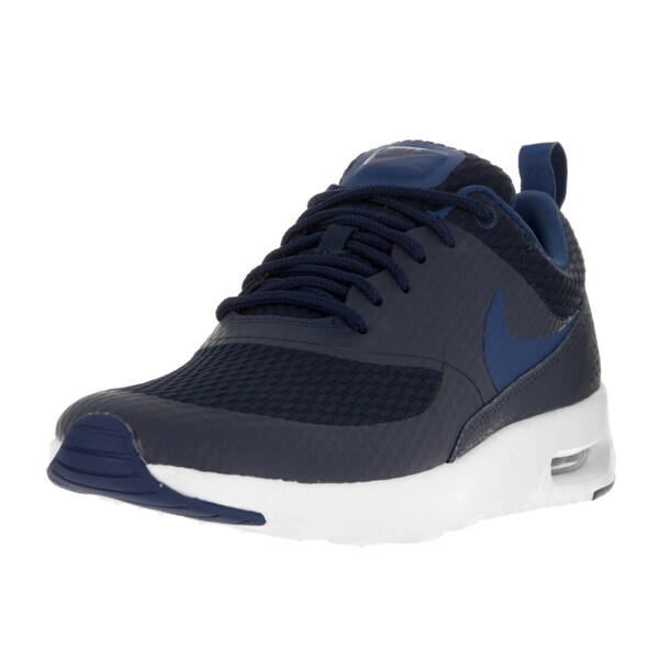 Nike Women's Air Max Thea TXT Obsidian/Coastal Blue/Summit White Running Shoe 22059343