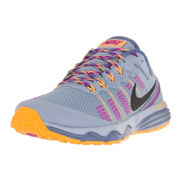 Nike Women's Dual Fusion Trail 2 Gery Plastic Running Shoes