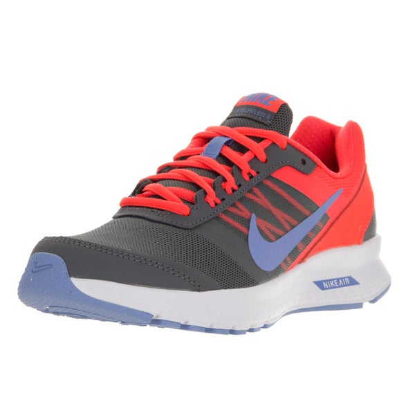 Nike Women's Air Relentless 5 Dark Grey/Chalk Black Bright Crimson White Running Shoe