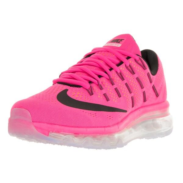 Nike Women's Air Max 2016 Pink Blast/Black/Laser Orange/White Running Shoes