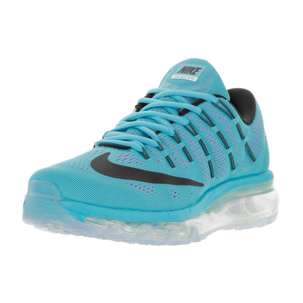 Nike Women's Air Max 2016 Gamma Blue/Black/Pink Blast/White Plastic Running Shoe