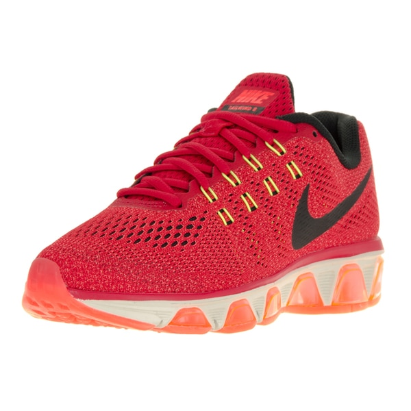 Nike Women's Air Max Tailwind 8 Unversity Red/Black/Hyper Orange/Violet Running Shoes