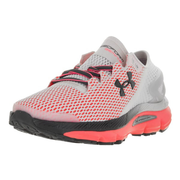 Under Armour Women's UA W Speedform Gemini 2.1 Pink and Grey Plastic Running Shoes