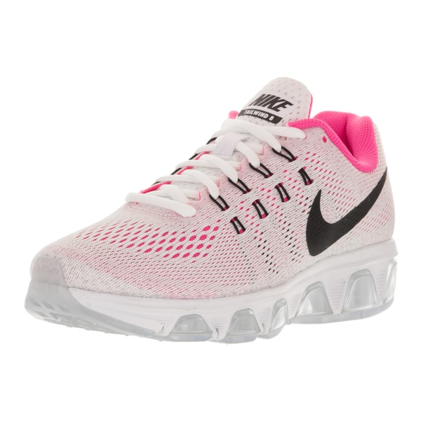 Nike Women's Air Max Tailwind 8 White/Black/Pure Platinum/Pink Blast Running Shoe