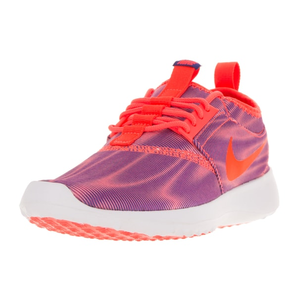Nike Women's Juvenate Purple and Crimson Casual Shoe