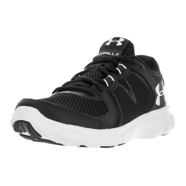 Under Armour Women's UA Thrill 2 Black Textile Running Shoes 22060584