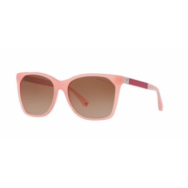 Emporio Armani Women EA4075F 550713 Pink Square Sunglasses