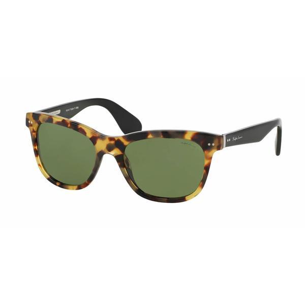 Ralph Lauren Women RL8119W 500452 Havana Plastic Square Sunglasses