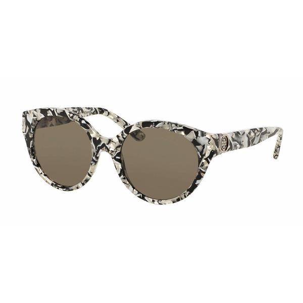 Tory Burch Women TY7087 15343 Multi Plastic Round Sunglasses