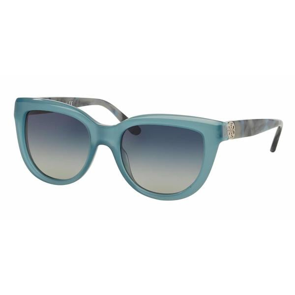 Tory Burch Women TY7088A 15284L Blue Plastic Irregular Sunglasses