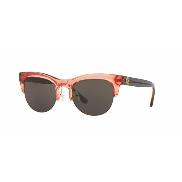 Tory Burch Women TY9045 15423 Pink Plastic Irregular Sunglasses