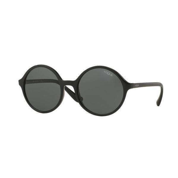 Vogue Women VO5036S W44/71 Black Plastic Round Sunglasses