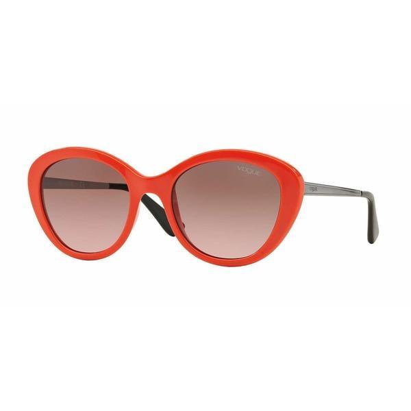 Vogue Women VO2870S 230814 Orange Metal Cat Eye Sunglasses