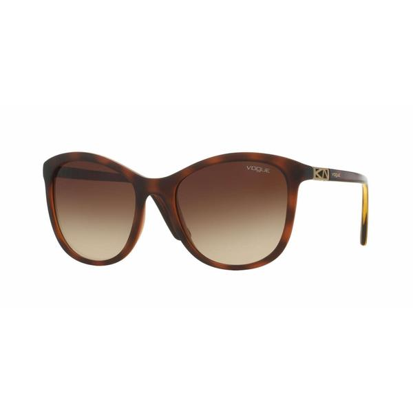 Vogue Women VO5033S 238613 Havana Plastic Square Sunglasses