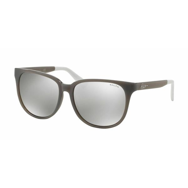 Ralph Women RA5194 14226G Grey Plastic Square Sunglasses