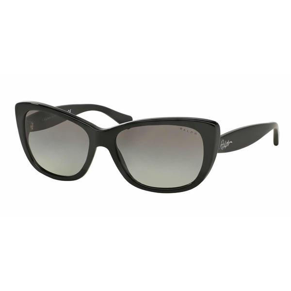Ralph Women RA5190 137711 Black Plastic Cat Eye Sunglasses
