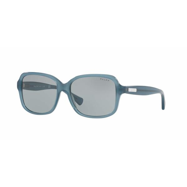 Ralph Women RA5216 317187 Green Plastic Rectangle Sunglasses