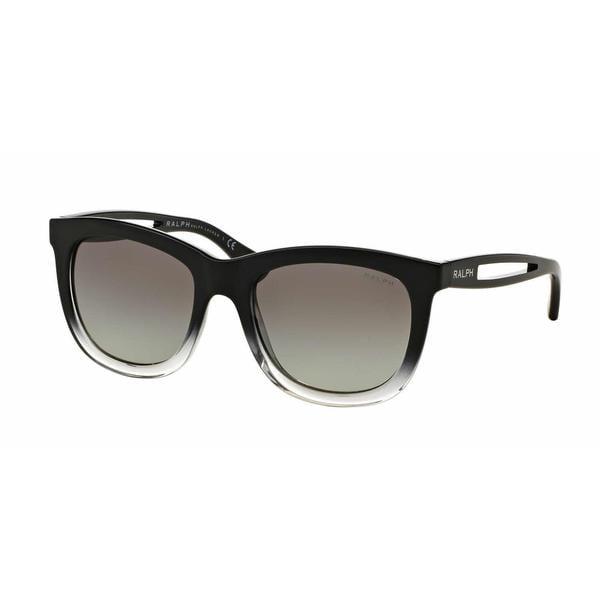Ralph Women RA5205 144811 Black Plastic Square Sunglasses