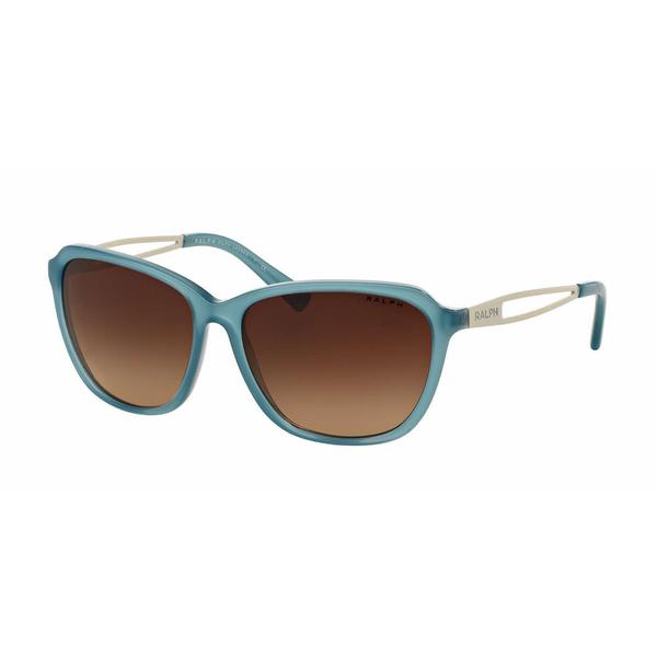 Ralph Women RA5199 145413 Blue Metal Square Sunglasses