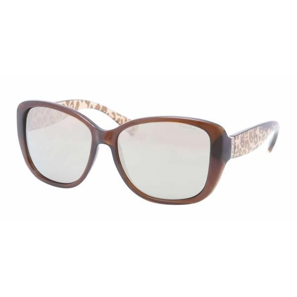 Ralph Women RA5182 12635A Brown Plastic Irregular Sunglasses
