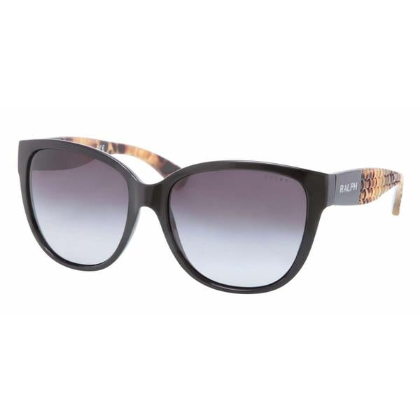 Ralph Women RA5181 501/11 Black Plastic Irregular Sunglasses