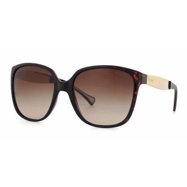 Ralph Women RA5173 502/13 Havana Plastic Square Sunglasses