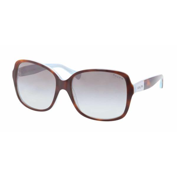 Ralph Women RA5165 601/11 Havana Plastic Square Sunglasses
