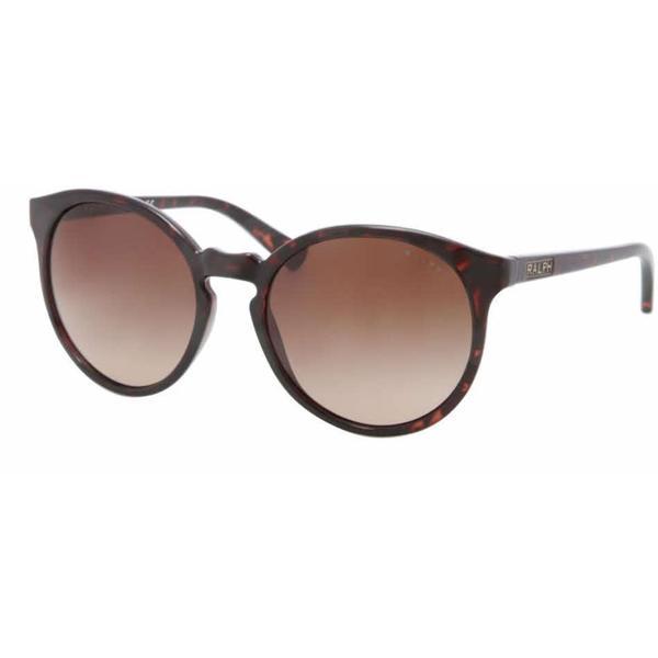 Ralph Women RA5162 502/13 Havana Plastic Round Sunglasses