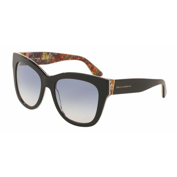 Dolce&Gabbana Women DG4270 303319 Plastic Plastic Square Sunglasses