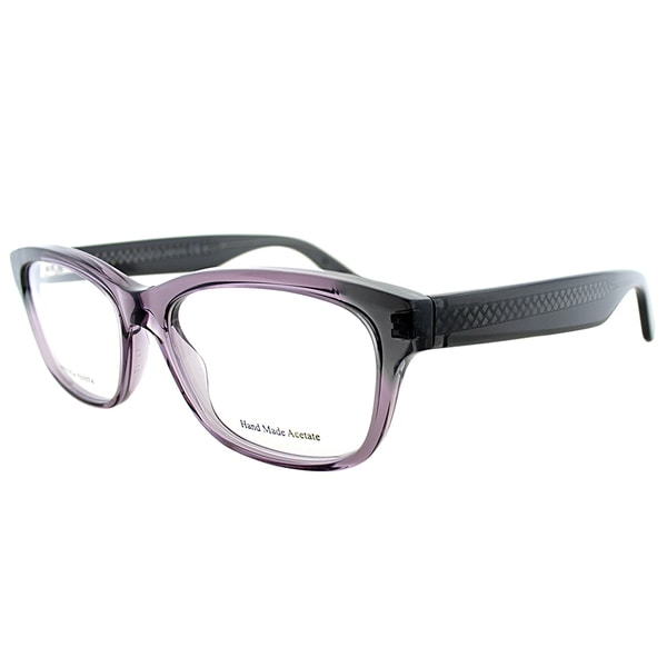 Bottega Veneta Purple Rectangular Eyeglasses (53mm)