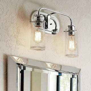 Kichler Braelyn 2-light Chrome Bath/Vanity Light