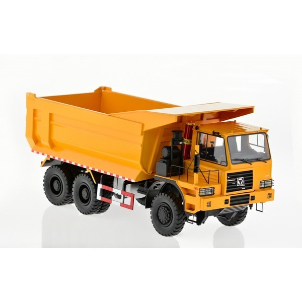 Yellow Heavy-duty Dump Truck